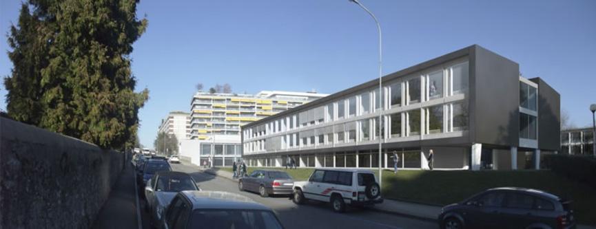 Architecte Geneve - 058 Rénovation complète du Cycle de Budé - Lauréat