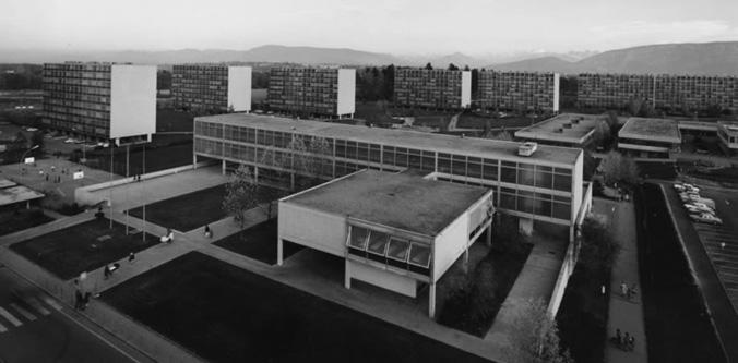 Architecte Geneve - 059 Rénovation et agrandissement de l'Ecole des Boudines