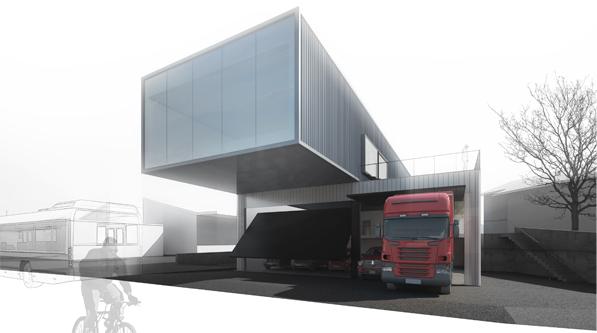 Architecte Geneve - 067 Caserne Intercommunale de Pompier - 3ème prix
