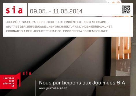 Architecte Geneve - Visite SIA 2014