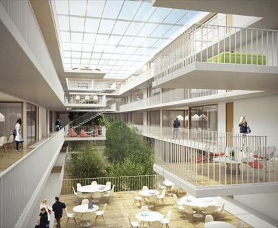 Architecte Geneve - 090 Concours Carouge / Int