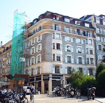 Architecte Geneve - 101 - Aménagement des bureaux de la Régie Foncière
