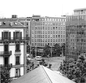 Architecte Geneve - 104 Façade Cours de Rive
