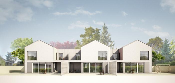 Architecte Geneve - 107 Villas à Meyrin