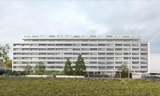 Architecte Geneve - 105  Rénovation et surélévation d'un immeuble