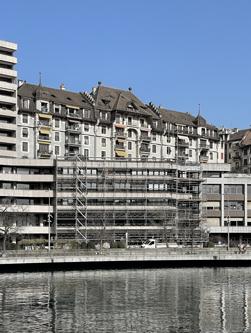 Architecte Geneve - 111 - Rénovation Immeuble Quai du Seujet