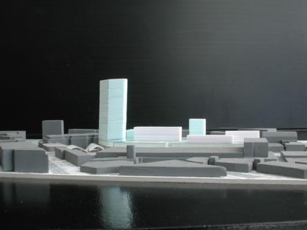 guenin architecte Genève / CH  Complexe multi-programmatique