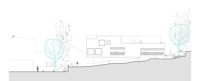 guenin architecte Nyon / CH  Salle de spéctacle / Bureaux / Logements à Nyon