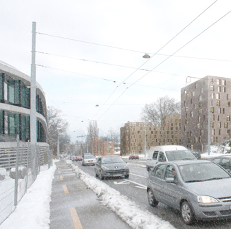 guenin architecte Genève / CH  Evolution urbaine du périmètre Vieusseux-Villars-Franchises
