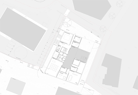 guenin architecte Lausanne / CH École des Fiches