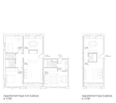 guenin architecte Vernier / GE / CH Logement Vernier 115