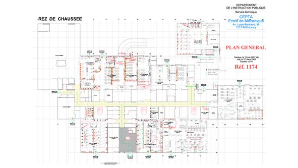 guenin architecte GE - CH DIP-POLES - Transformation des Ecoles Techniques