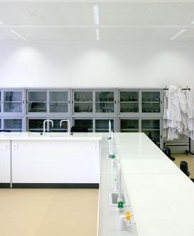 guenin architecte Genève / CH Laboratoires de chimie Voltaire