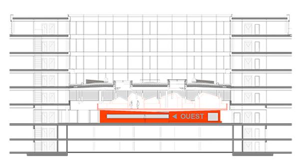 guenin architecte Vernier / GE / CH Showroom de matériaux