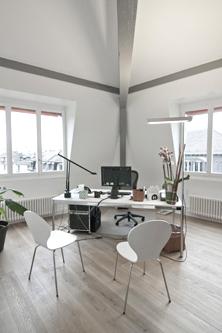 guenin architecte Genève / CH Aménagement des bureaux de la Régie Foncière