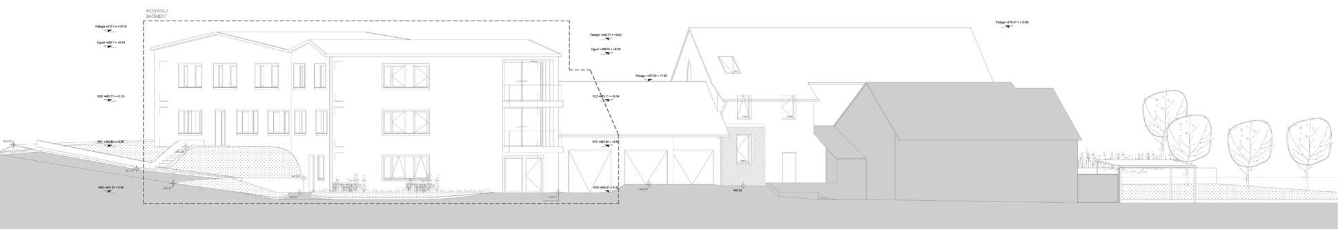 guenin architecte Bernex / GE / CH Logements collectifs à Bernex