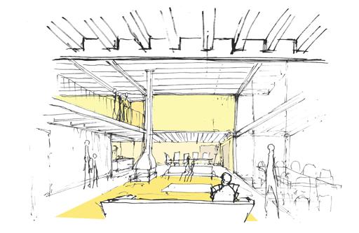 guenin architecte Yens / VD / CH Transformation de la Maison Bleue