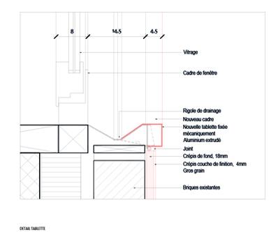 guenin architecte Genève Rénovation de la façade du Centre Télécom Richard Wagner