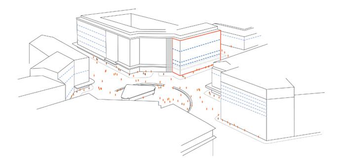 guenin architecte Genève Rénovation de façade Cours de Rive