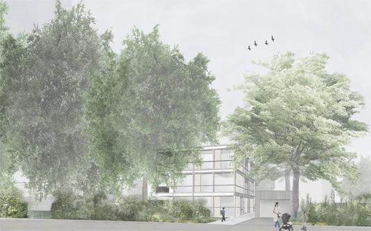 guenin architecte Genève Petit Immeuble de logements