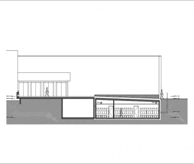 guenin architecte Meyrin / CH Extension des locaux des sapeurs-pompiers de Meyrin