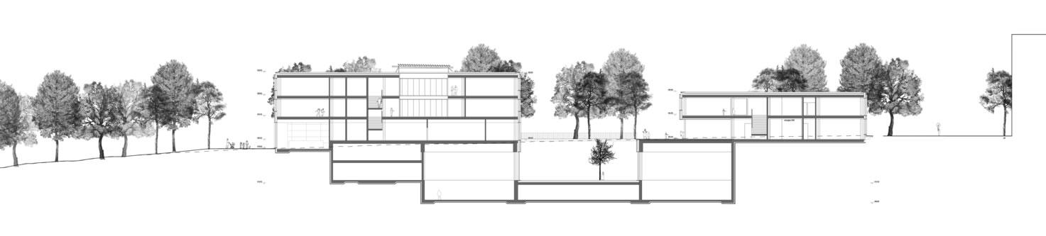guenin architecte Plan les Ouates / CH Ecole primaire