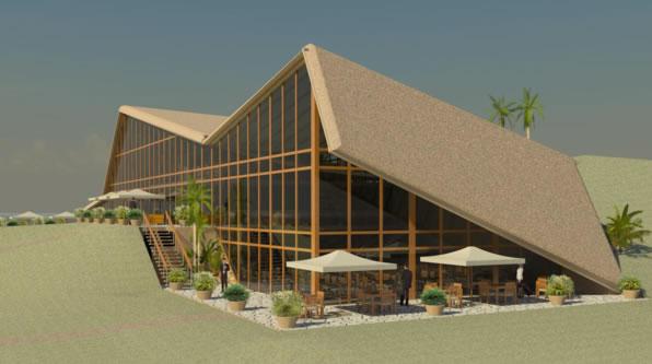 guenin architecte Lalibela / Ethiopie Complexe hôtelier