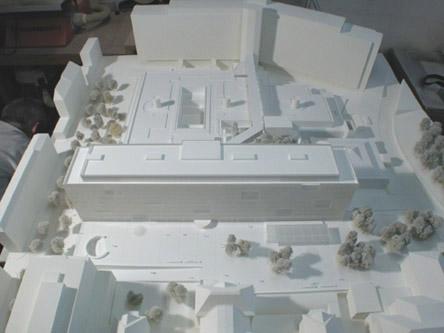guenin architecte Genève / CH  BDL2 Bâtiments des lits HUG