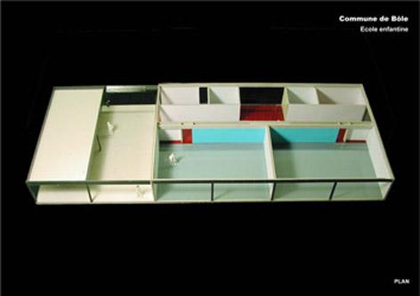 guenin architecte Bõle / CH Ecole enfantine - 2 classes