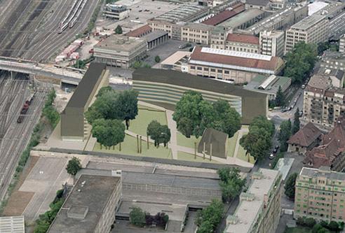 guenin architecte Genève / CH  Bâtiments quartier de Sécheron