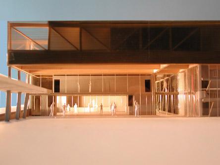 guenin architecte Troinex / CH Salle communale