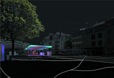 guenin architecte Berne / CH  Réaménagement de la Breitenrainplatz