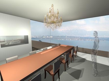 guenin architecte Cologny / CH Villa privée de luxe