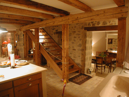 guenin architecte Bournens - VD / CH Maison villageoise