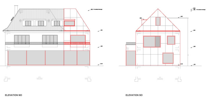 guenin architecte Cologny / CH Extension et transformation int. d'une villa